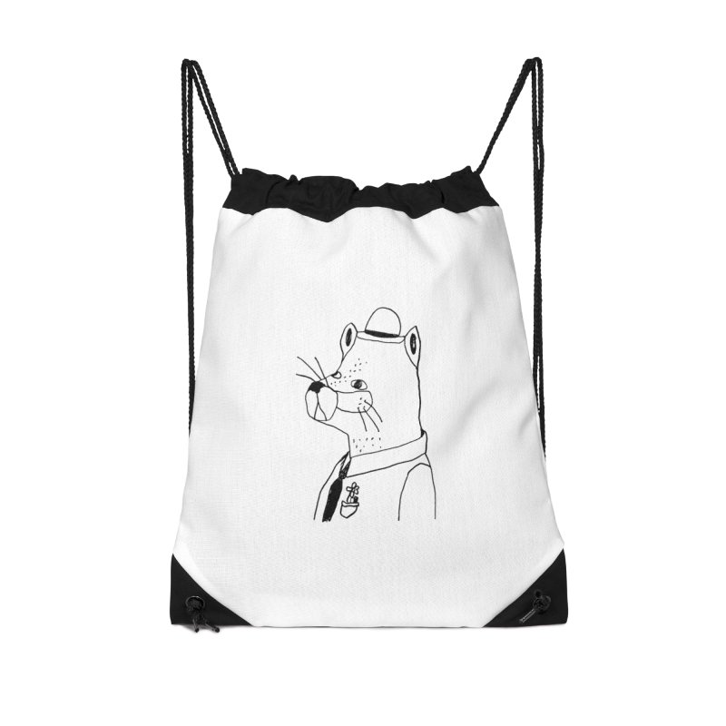 Businessman Accessories Bag by Garbage Party's Trash Talk & Apparel Shop