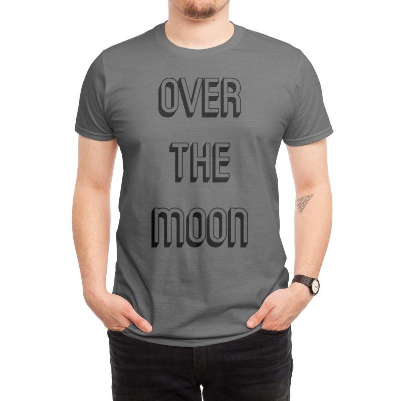 Over The Moon Men's T-Shirt by Gardinario