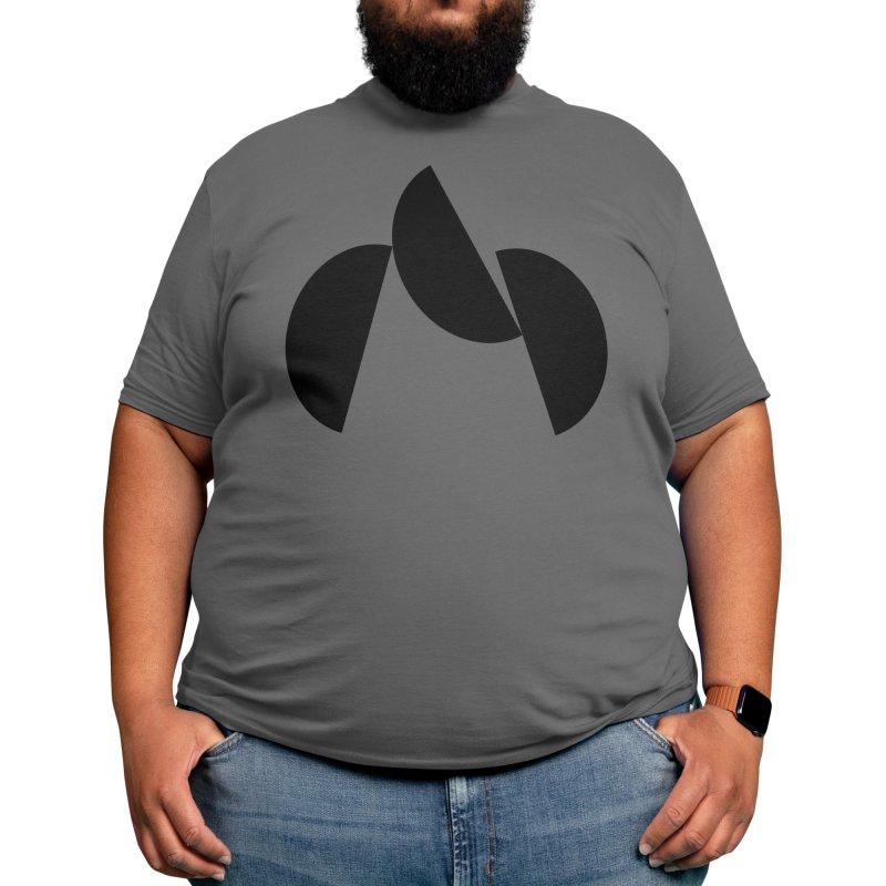 Tumbling Forms Men's T-Shirt by Gardinario