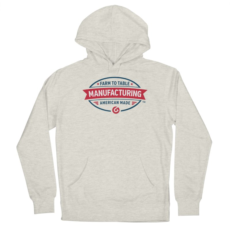 Farm to Table Manufacturing Men's Pullover Hoody by Gardner Business Media