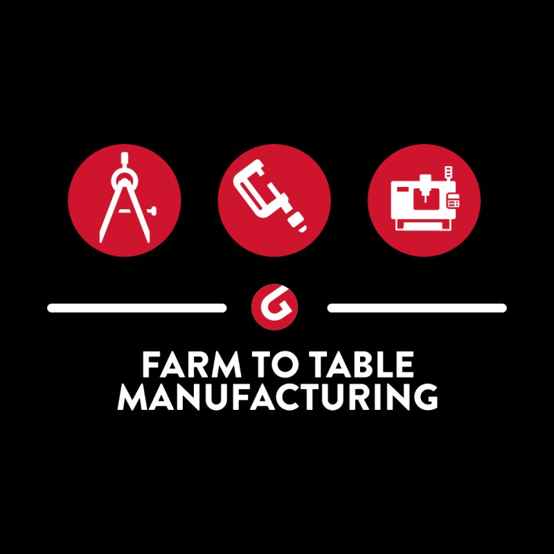 Farm To Table Manufacturing Men's T-Shirt by Gardner Business Media