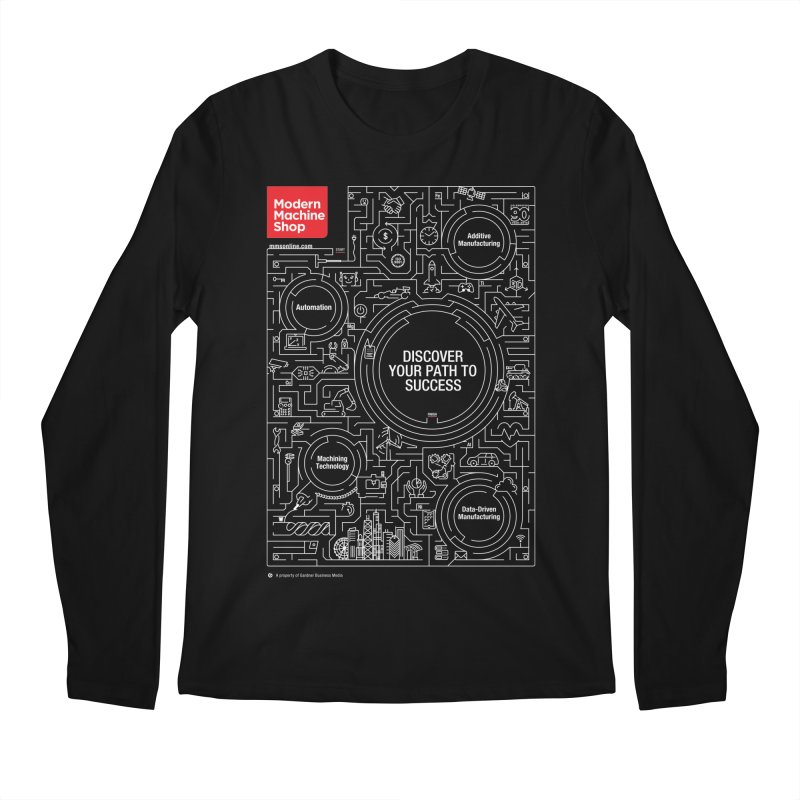 Discover Your Path To Success Men's Longsleeve T-Shirt by Gardner Business Media