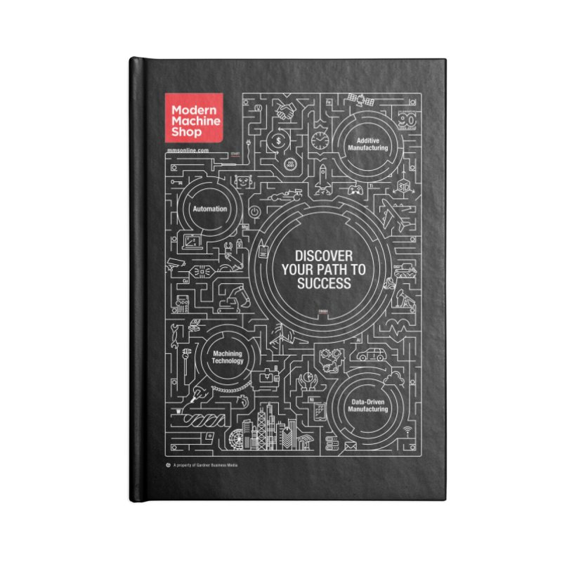 Discover Your Path To Success Accessories Notebook by Gardner Business Media