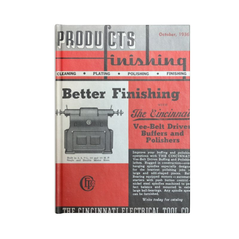Products Finishing 1936 Accessories Notebook by Gardner Business Media