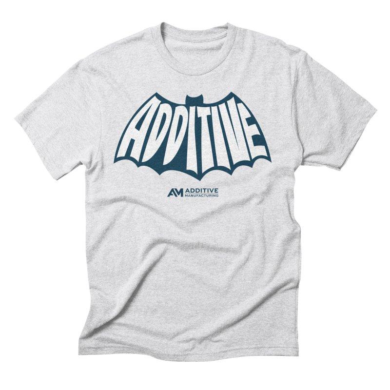 Additive Batman Men's T-Shirt by Gardner Business Media