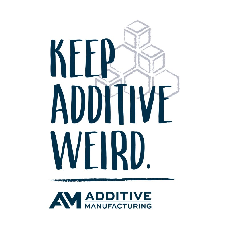 Keep Additive Weird Men's T-Shirt by Gardner Business Media