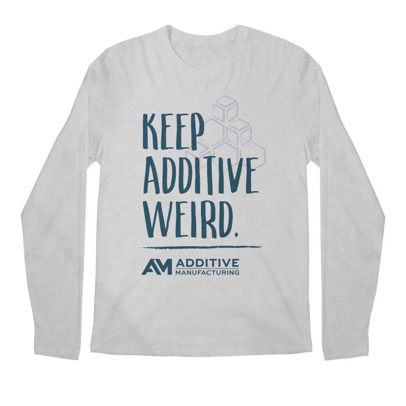 Keep Additive Weird Men's Longsleeve T-Shirt by Gardner Business Media