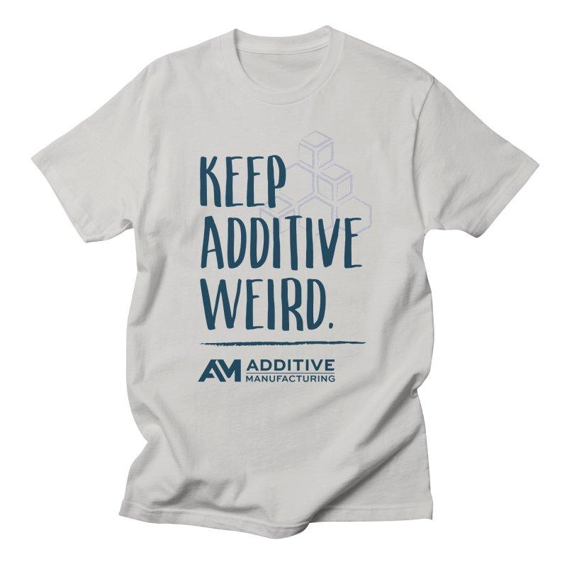 Keep Additive Weird Men's T-Shirt by Gardner Business Media