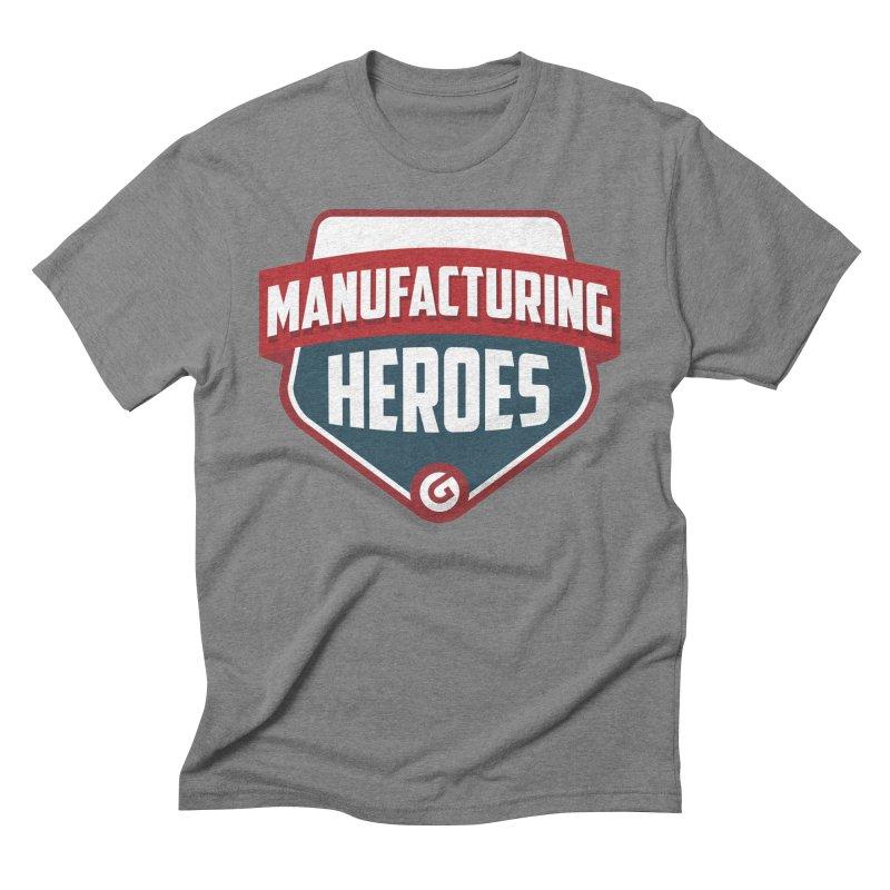 Manufacturing Heroes Men's T-Shirt by Gardner Business Media