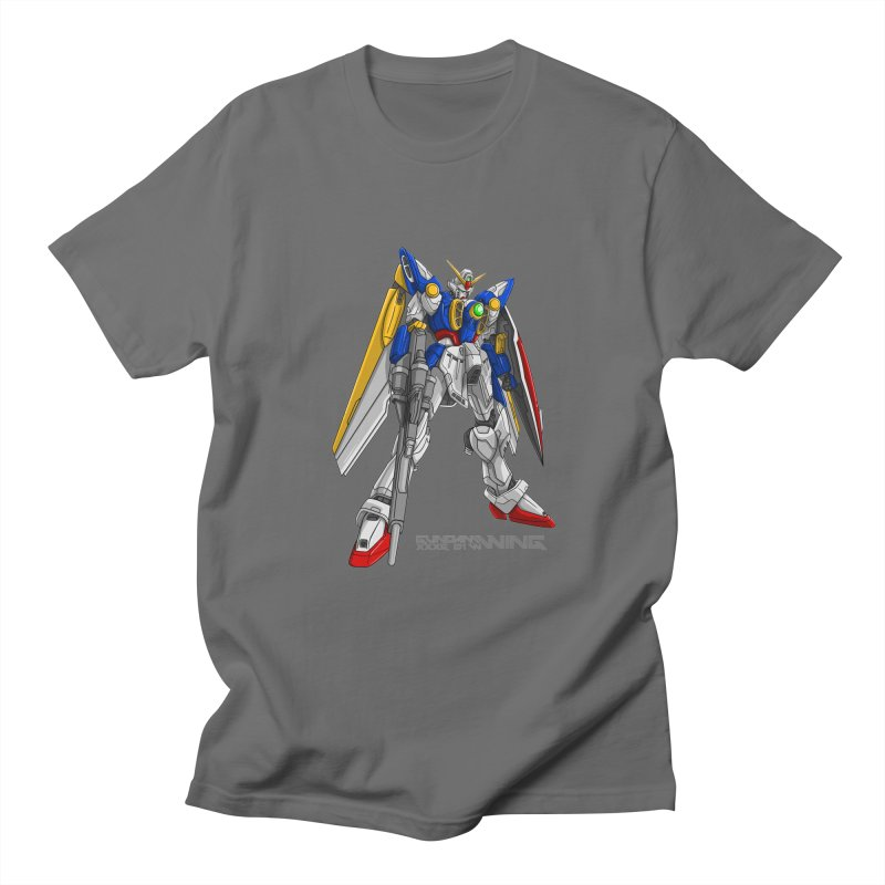 Wing Gundam Men's T-Shirt by garistipis's Artist Shop
