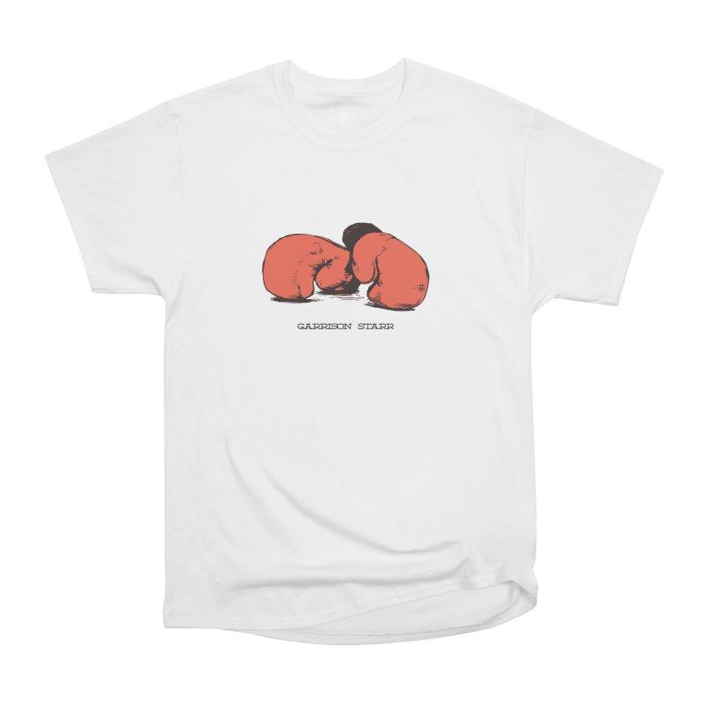 Amateur Gloves Men's Heavyweight T-Shirt by Garrison Starr's Artist Shop