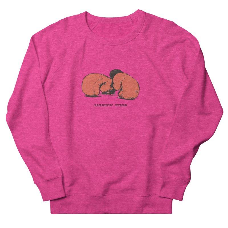 Amateur Gloves Women's French Terry Sweatshirt by Garrison Starr's Artist Shop