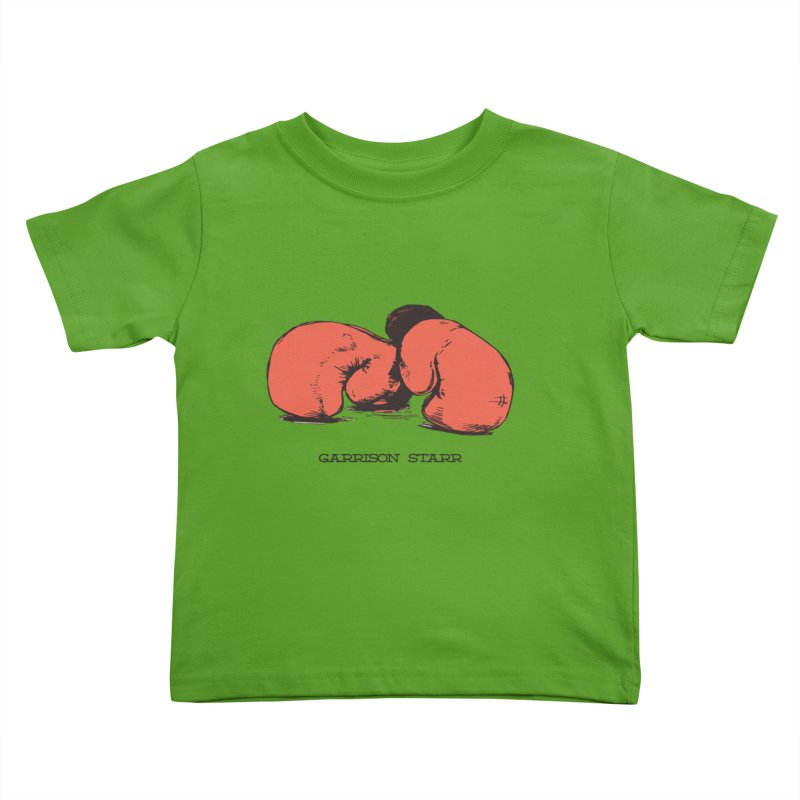 Amateur Gloves Kids Toddler T-Shirt by Garrison Starr's Artist Shop