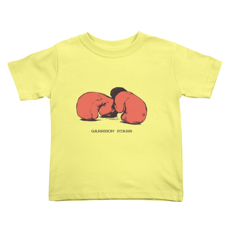 Amateur Gloves Kids Toddler T-Shirt by Garrison Starr's Artist Shop