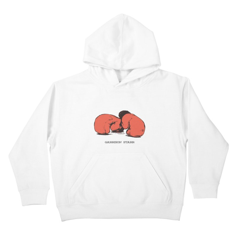 Amateur Gloves Kids Pullover Hoody by Garrison Starr's Artist Shop