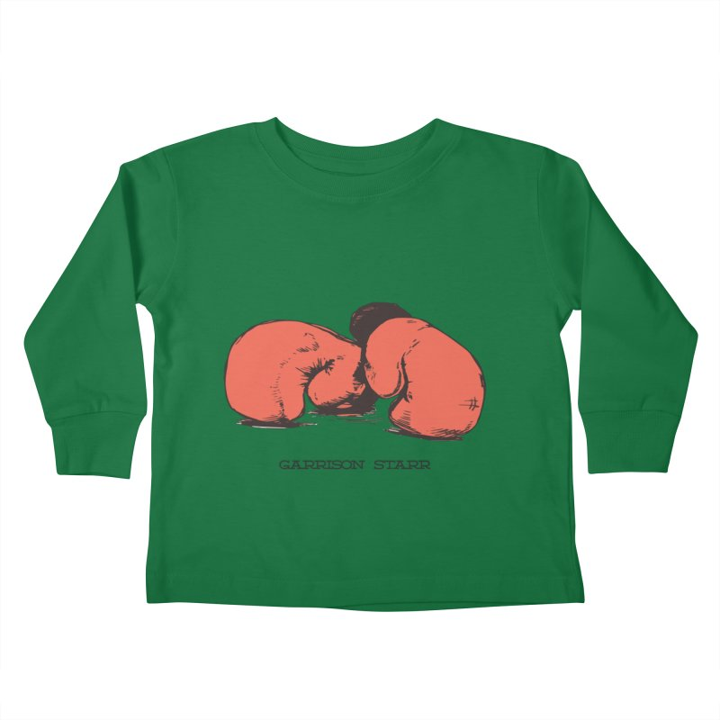 Amateur Gloves Kids Toddler Longsleeve T-Shirt by Garrison Starr's Artist Shop
