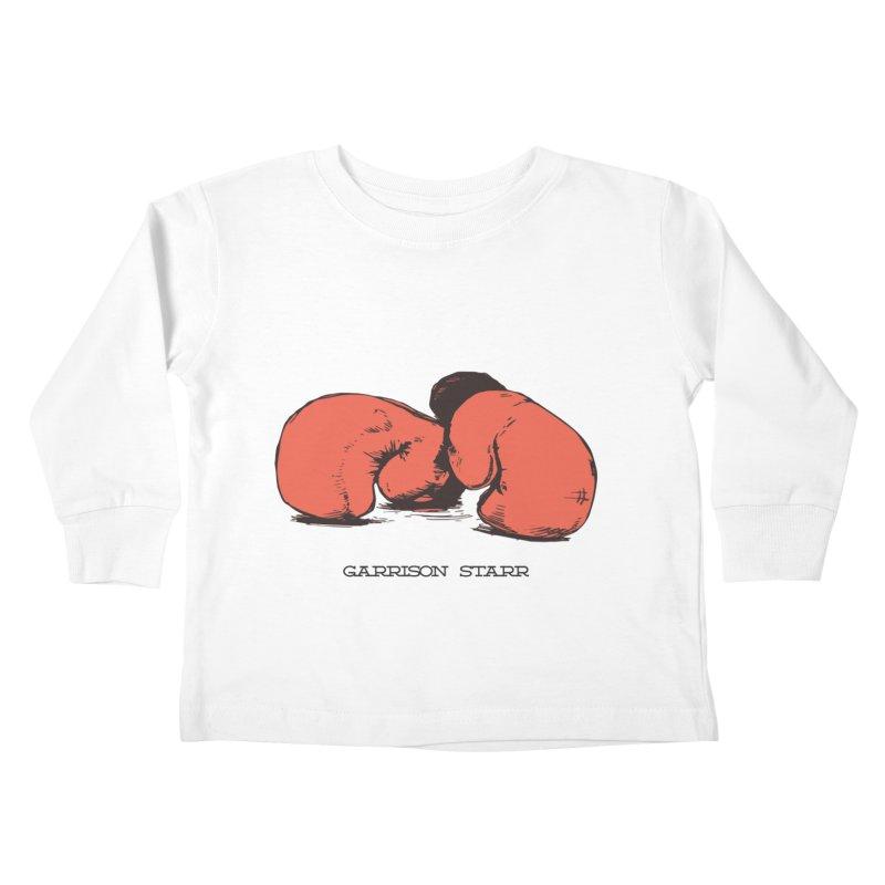 Amateur Gloves Kids Toddler Longsleeve T-Shirt by Garrison Starr's Artist Shop