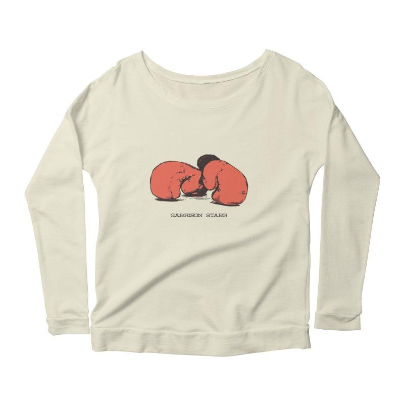 Amateur Gloves Women's Scoop Neck Longsleeve T-Shirt by Garrison Starr's Artist Shop