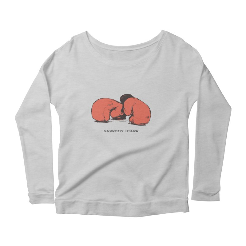 Amateur Gloves Women's Scoop Neck Longsleeve T-Shirt by Garrison Starr's Artist Shop