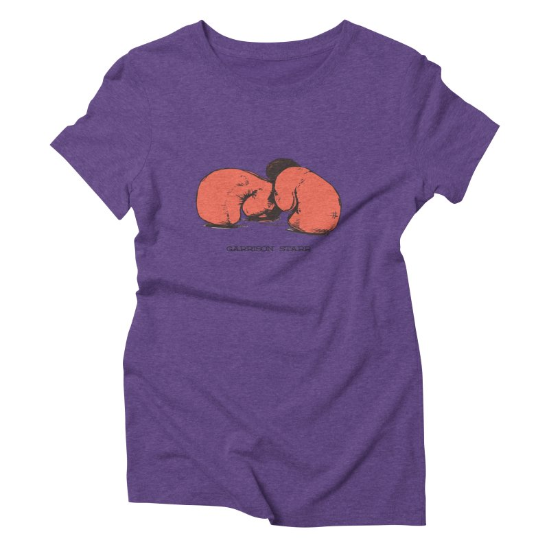 Amateur Gloves Women's Triblend T-Shirt by Garrison Starr's Artist Shop