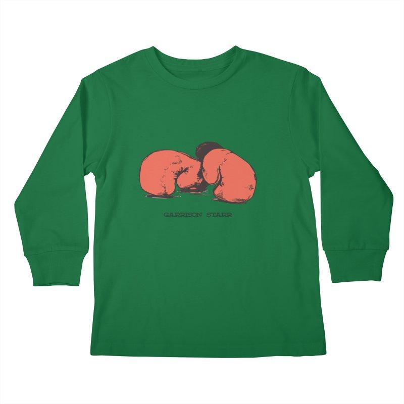 Amateur Gloves Kids Longsleeve T-Shirt by Garrison Starr's Artist Shop