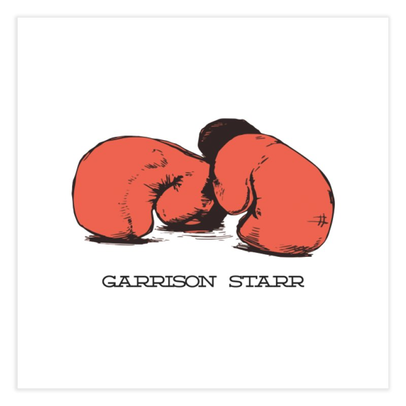 Amateur Gloves Home Fine Art Print by Garrison Starr's Artist Shop