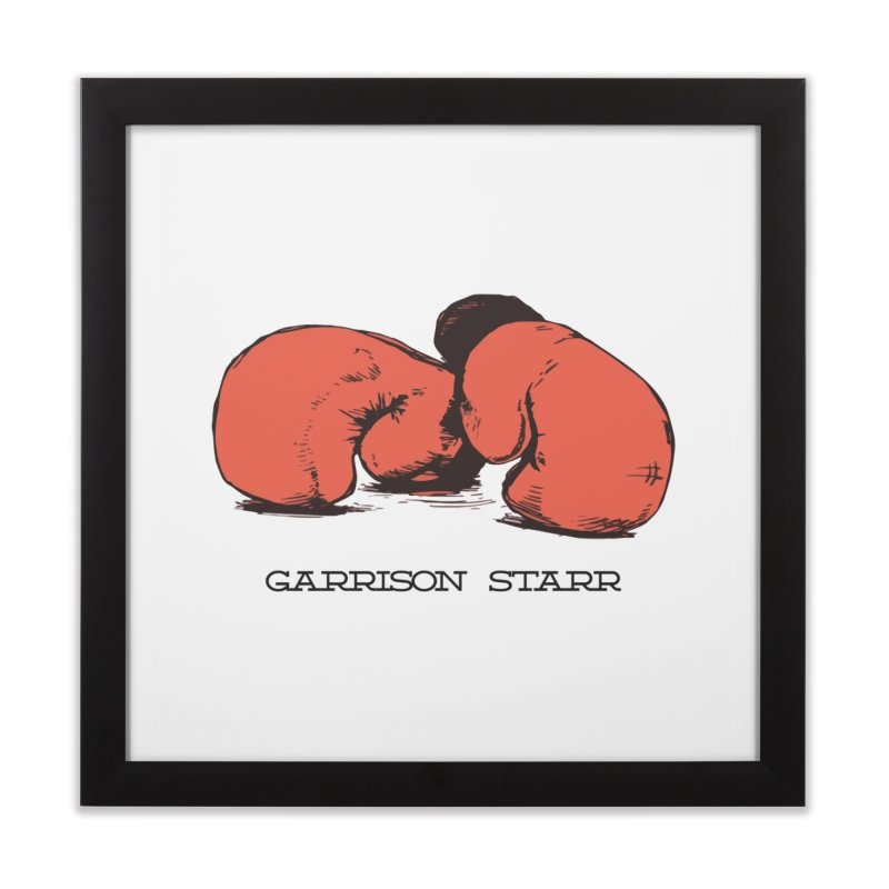 Amateur Gloves Home Framed Fine Art Print by Garrison Starr's Artist Shop