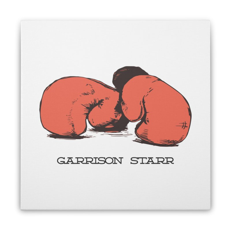 Amateur Gloves Home Stretched Canvas by Garrison Starr's Artist Shop