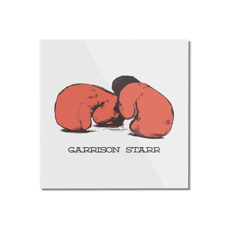 Amateur Gloves Home Mounted Acrylic Print by Garrison Starr's Artist Shop