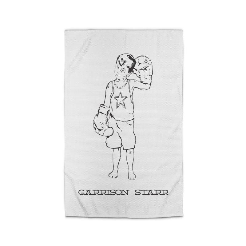 Amateur Boy - All Black Home Rug by Garrison Starr's Artist Shop