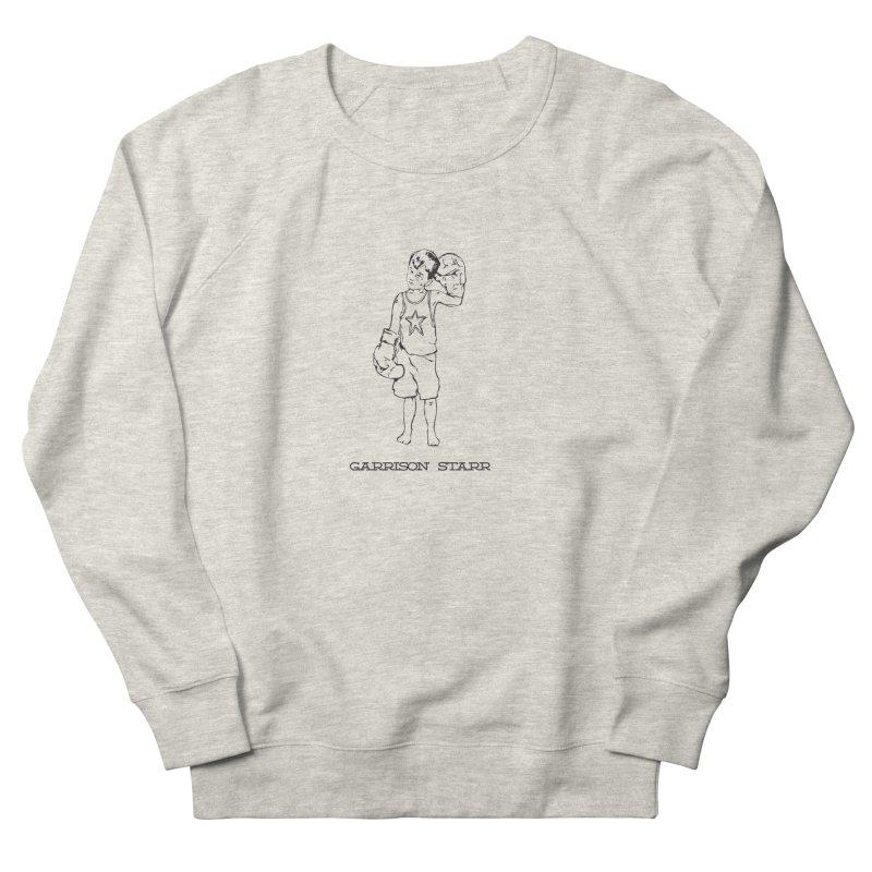 Amateur Boy - All Black Women's French Terry Sweatshirt by Garrison Starr's Artist Shop