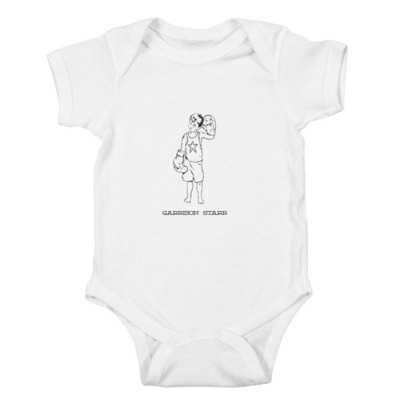 Amateur Boy - All Black Kids Baby Bodysuit by Garrison Starr's Artist Shop