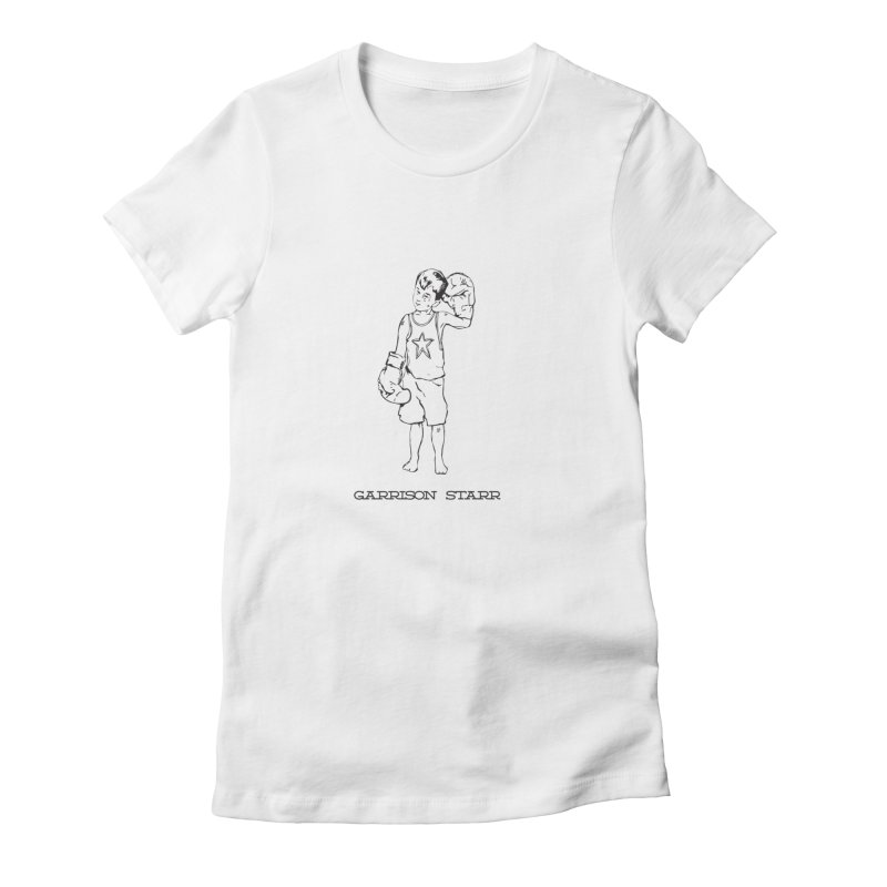Amateur Boy - All Black Women's T-Shirt by Garrison Starr's Artist Shop