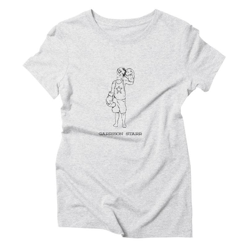 Amateur Boy - All Black Women's T-Shirt by Garrison Starr's Artist Shop