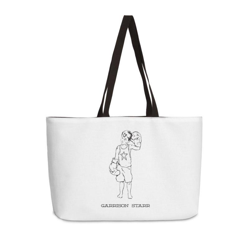 Amateur Boy - All Black Accessories Weekender Bag Bag by Garrison Starr's Artist Shop
