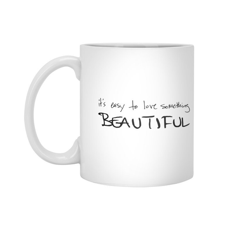 Hollow Lyric - Black Accessories Mug by Garrison Starr's Artist Shop