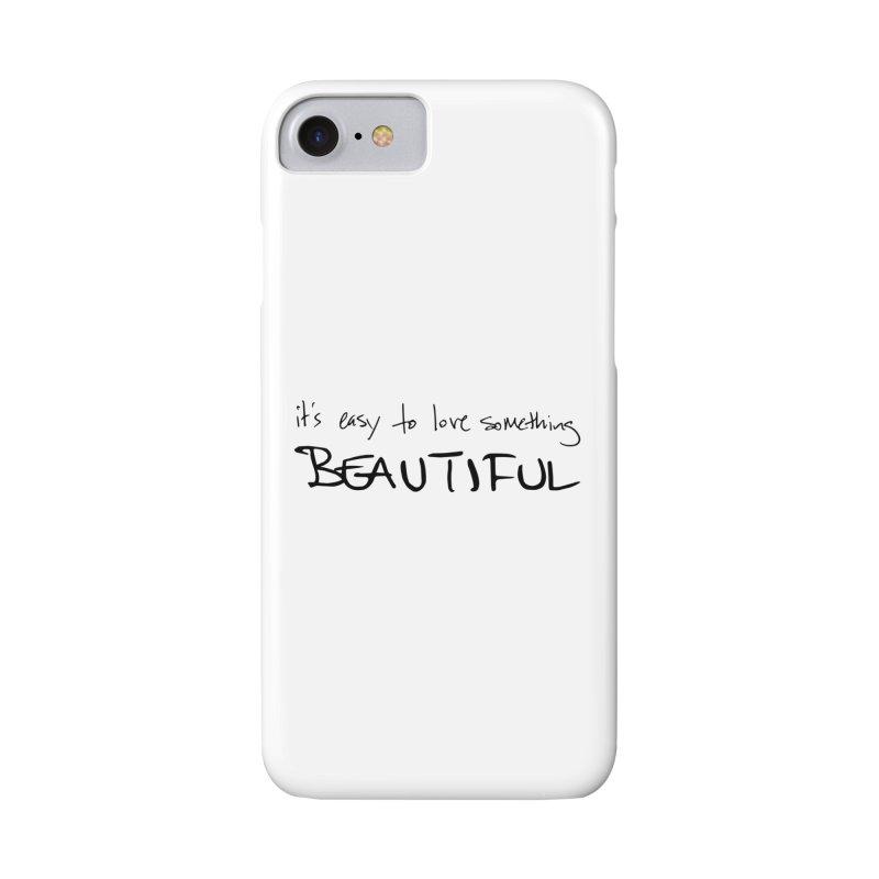Hollow Lyric - Black Accessories Phone Case by Garrison Starr's Artist Shop