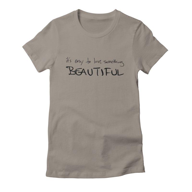 Hollow Lyric - Black Women's T-Shirt by Garrison Starr's Artist Shop