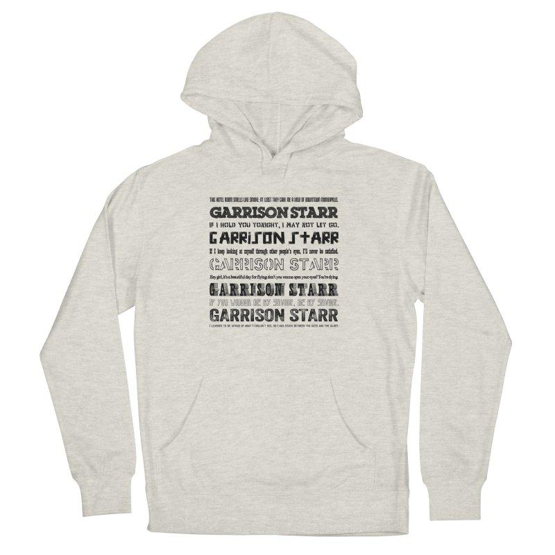 Multiple Lyrics Women's Pullover Hoody by Garrison Starr's Artist Shop