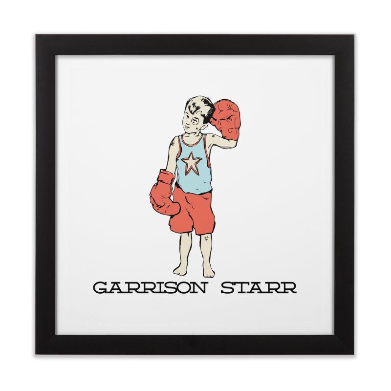 Amateur Boy - Color Home Framed Fine Art Print by Garrison Starr's Artist Shop