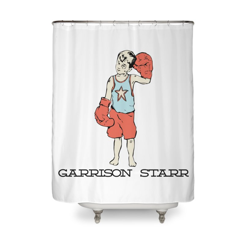 Amateur Boy - Color Home Shower Curtain by Garrison Starr's Artist Shop