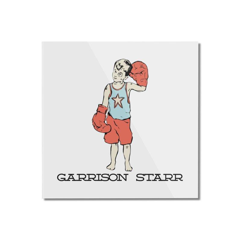 Amateur Boy - Color Home Mounted Acrylic Print by Garrison Starr's Artist Shop