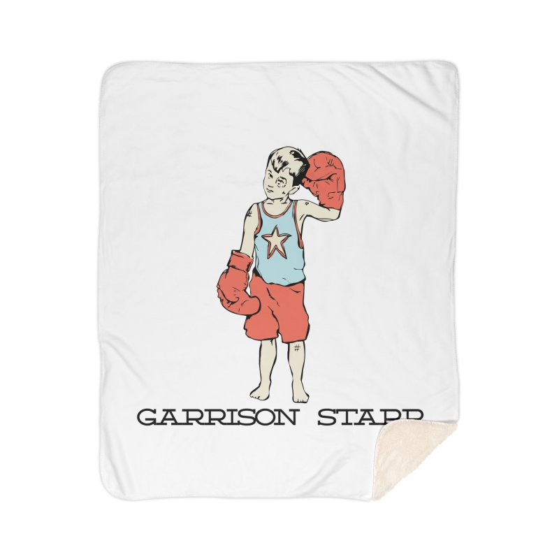 Amateur Boy - Color Home Blanket by Garrison Starr's Artist Shop