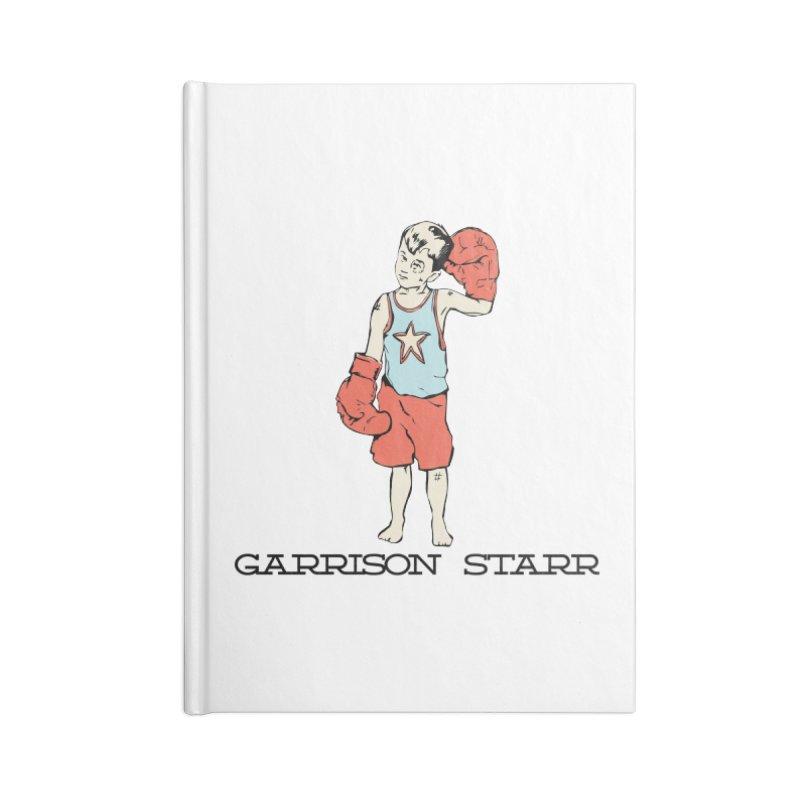 Amateur Boy - Color Accessories Lined Journal Notebook by Garrison Starr's Artist Shop