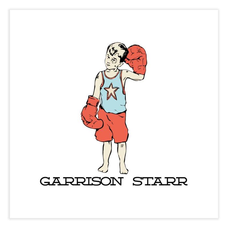 Amateur Boy - Color Home Fine Art Print by Garrison Starr's Artist Shop