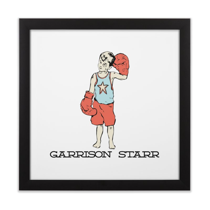Amateur Boy - Color Home Framed Fine Art Print by Garrison Starr's Artist Shop