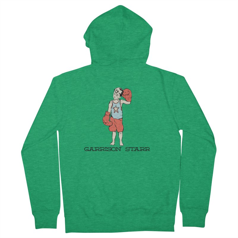 Amateur Boy - Color Men's Zip-Up Hoody by Garrison Starr's Artist Shop