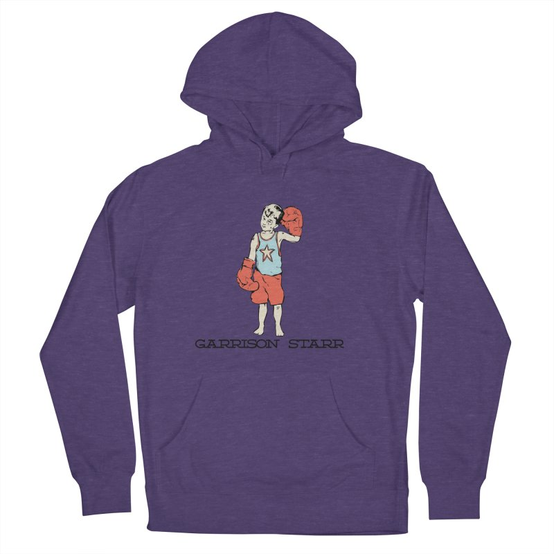 Amateur Boy - Color Women's French Terry Pullover Hoody by Garrison Starr's Artist Shop