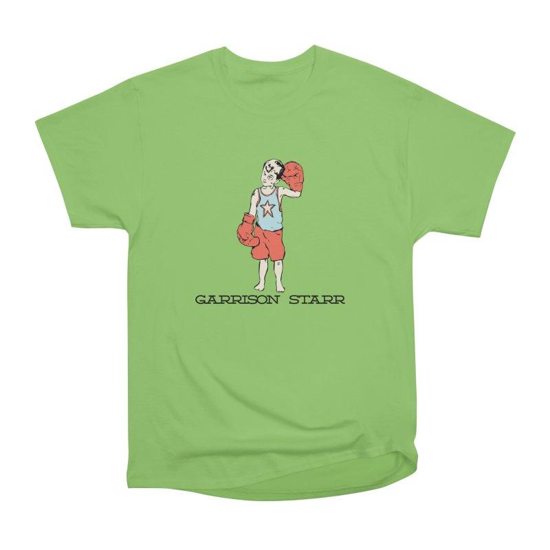 Amateur Boy - Color Men's Heavyweight T-Shirt by Garrison Starr's Artist Shop