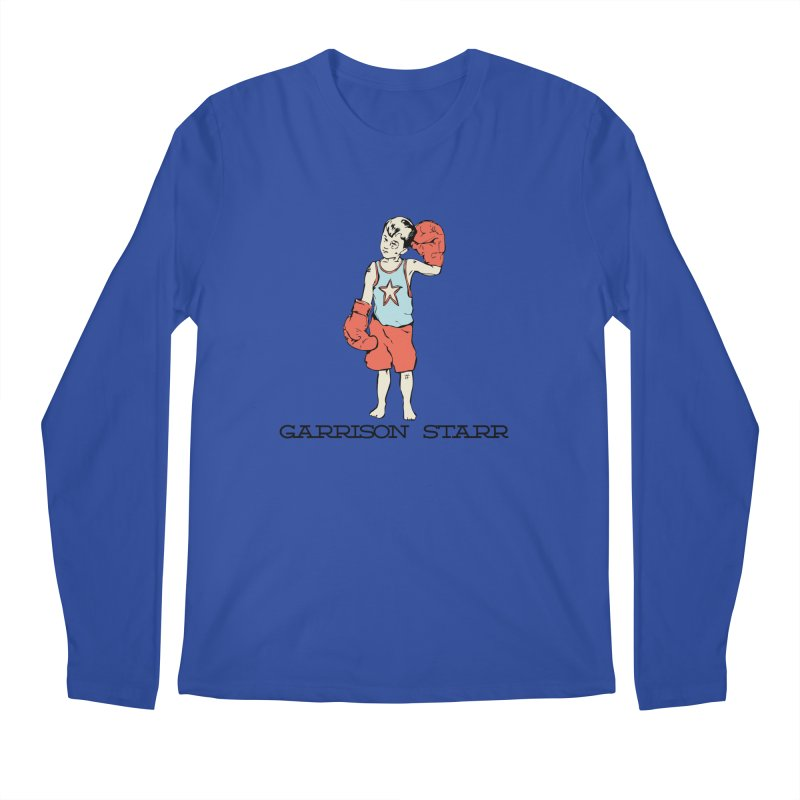 Amateur Boy - Color Men's Regular Longsleeve T-Shirt by Garrison Starr's Artist Shop